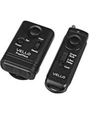 Vello FreeWave Wireless Remote Shutter Release (Canon Sub-Mini Connection) - Canon EOS: Elan series, Digital Rebel (300D), XT (350D), XTi (400D), XSi (450D), T1i (500D), T2i (550D), T3 (1100D), T3i (600D), T4i (650D), T5 (1200D), T5i (700D), SL1 (100D) and XS (1000D), 60D & 70D; PowerShot G10, G11, G12, G15, G16, G1 X & G1 X Mark II, SX50 HS