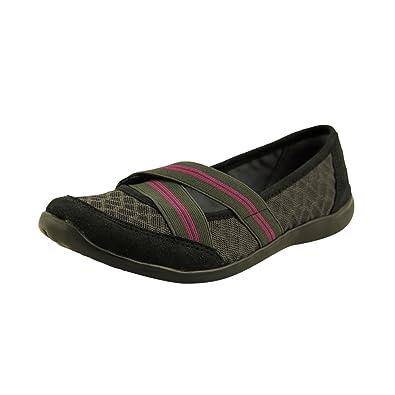 24e40ebf253e Clarks Charron Myrtle Womens Size 6 Black Textile Ballet Flats Shoes UK 3.5