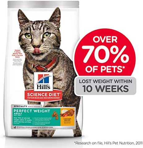Cat Food: Hill's Science Diet Perfect Weight