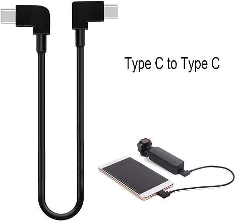 1 un Cable de línea de transferencia de datos Cámara Android Modelo para Osmo Bolsillo Cardán ser