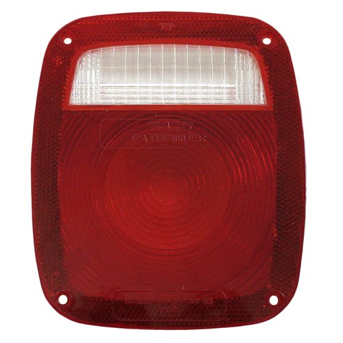 4-Inch Universal Blazer B999R Stop//Tail//Turn Light Replacement Lens