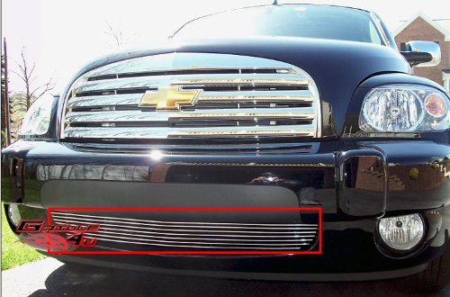 (APS C85213A Polished Aluminum Billet Grille Replacement for select Chevrolet HHR Models )