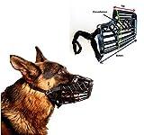 Basket Cage Dog Muzzle Size 6 - X Large - Adjustable Straps