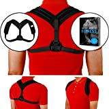 Adjustable Posture Corrector for Men and Women Ergonomically Designed to Offer Excellent Brace Support Helps You Achieve Best Posture for Back Pain Treatment Shoulders & Neck Learned