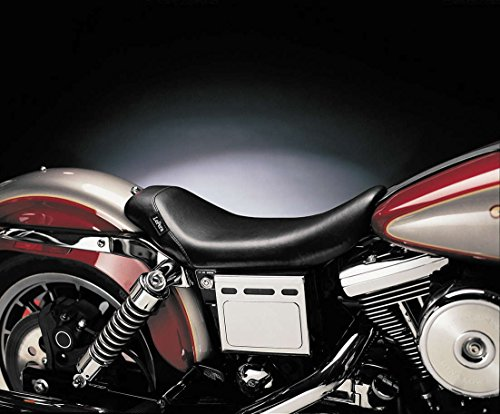 96-03 HARLEY FXDL: Le Pera Bare Bones Solo Seat (Smooth With Gel) (Black)