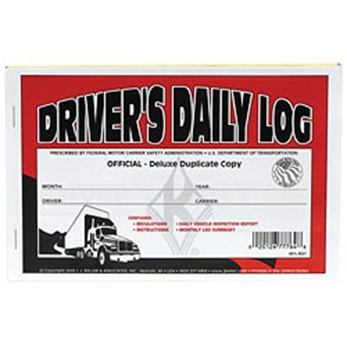 (J.J. Keller - Duplicate Driver's Daily Log Book, Carbon, Pack of 25 Books)