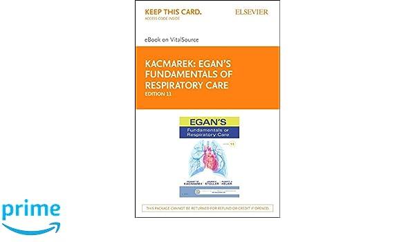 more photos 4b617 5169b ... Array - egan u0027s fundamentals of respiratory care elsevier ebook on  rh amazon com