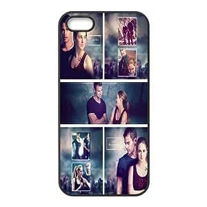 IPhone 5,5S Cases Divergent Insurgent Allegiant, Divergent [Black]