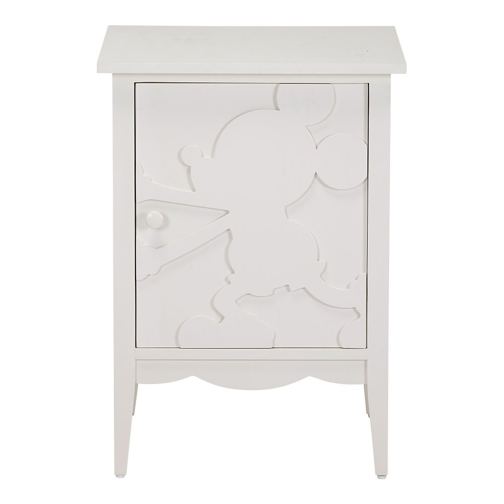 Ethan Allen | Disney Mickey Mouse Shadow Cabinets, Snow, Right