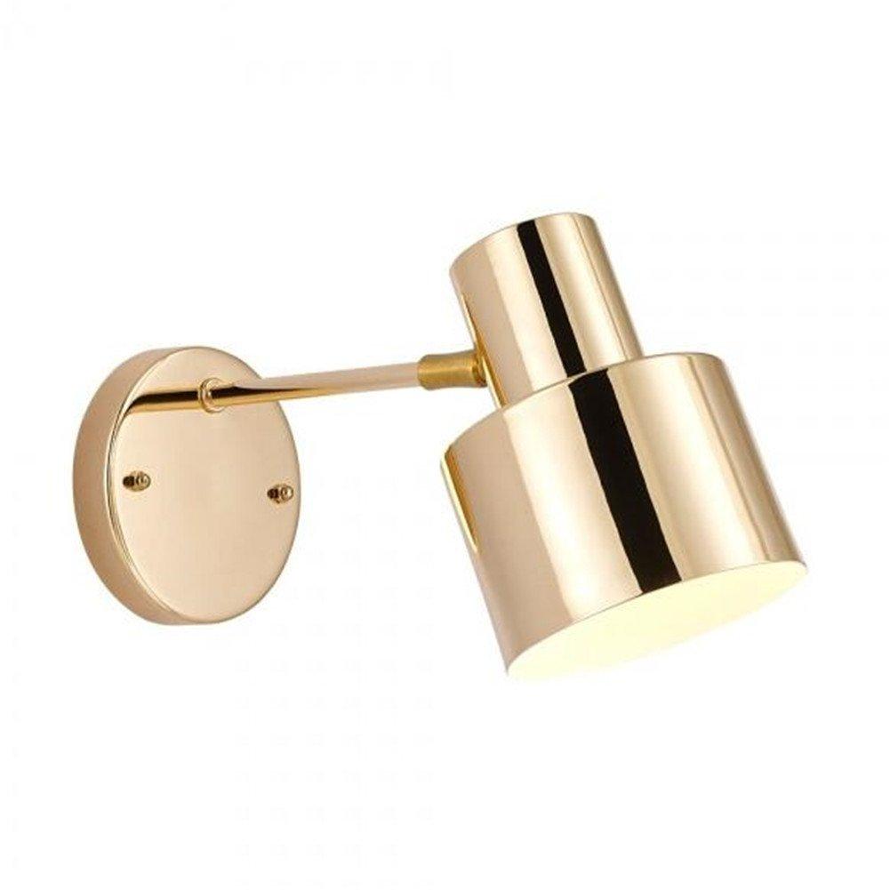 Gold MSFS Wandleuchten LED Einfache Bad Spiegel Korridor Nacht Lesen Moderne Wohnzimmer Schlafzimmer Hotel,Gold