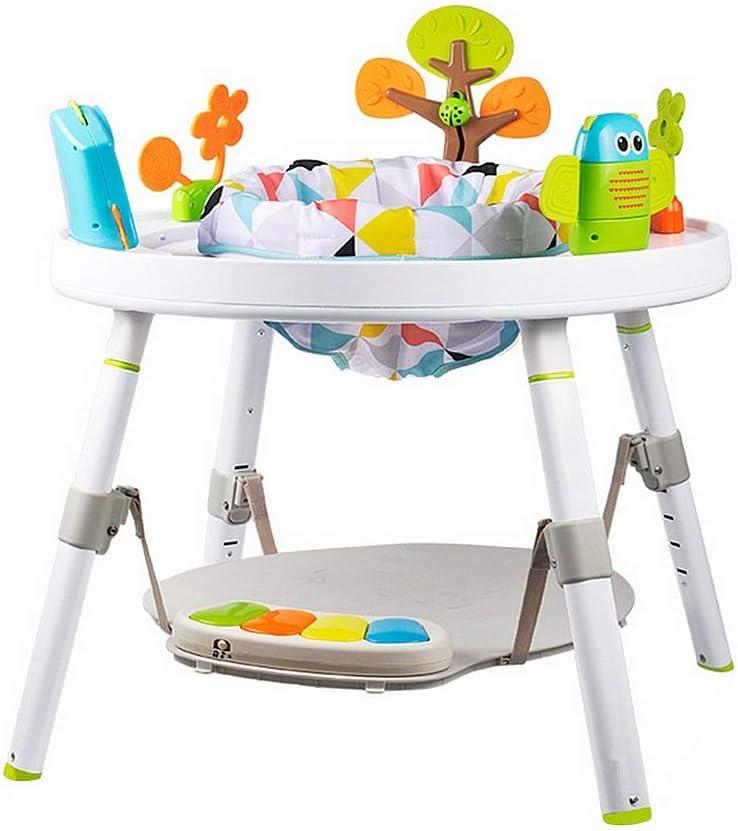 Andador Primeros Pasos con Actividades manuales Caminador de actividad 3 en 1 Posición sentada o caminada Detrás de un saltador Fácil de doblar Juguetes y actividades divertidas for el bebé