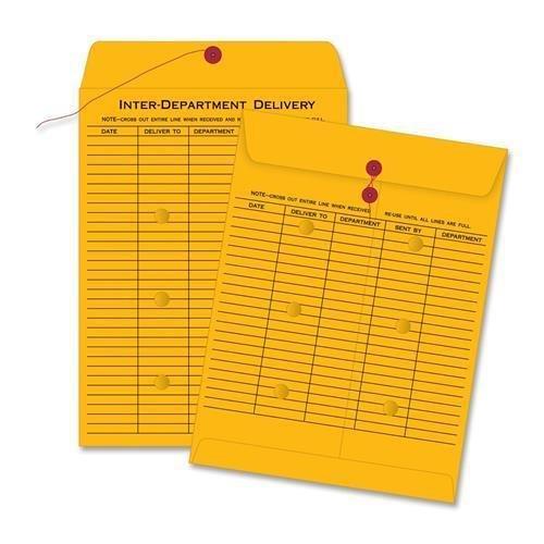 63561 Quality Park Standard Style Inter-Department Envelope - Interoffice - 10