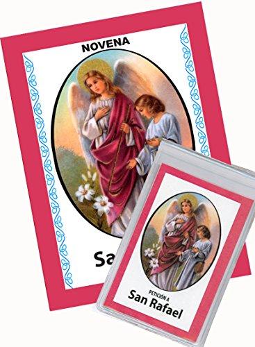 Novena De San Rafael para Asuntos de Salud de Cuerpo y Alma. (Corazón Renovado) (Novena A La Sangre De Cristo Original)