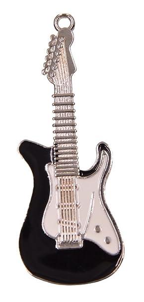 FEBNISCTE Negro 32GB Pendrive Guitarras del Metal - USB2.0 Memoria eExterna