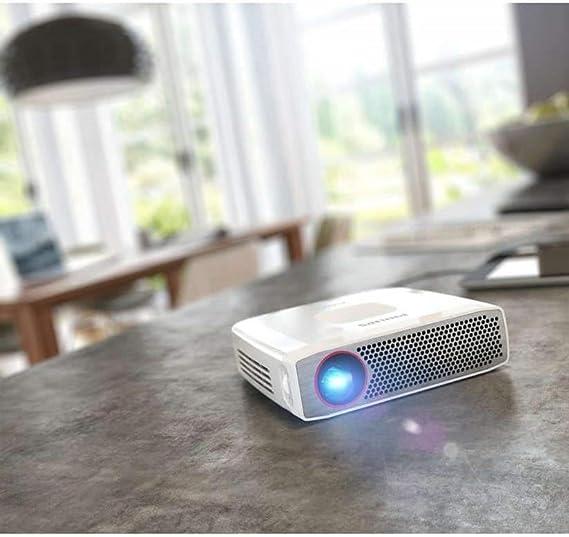 Alimentazione a Batteria Risoluzione HD a 720p 350 Lumen Altoparlante da 3 W Philips PicoPix Plus 4835 Proiettore Mobile Bianco Mini HDMI