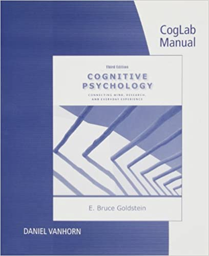 Amazon coglab manual with printed access card for cognitive coglab manual with printed access card for cognitive psychology connecting mind research and everyday experience 3rd 3rd edition fandeluxe Choice Image