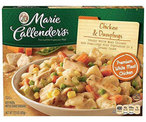 Marie Callender's Frozen Dinner, Chicken & Dumplings, 13.5 Ounce