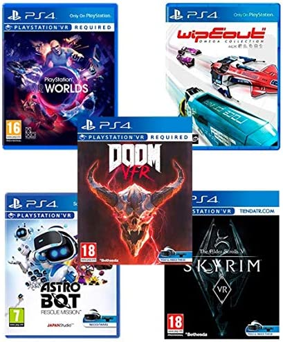 PlayStation VR2 [MegaPack]: Skyrim + Doom + WipEout + Astro Bot + ...