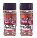 Beer Can Roasted Chicken Seasoning Larry the Cable Guy Spices  2.40 Ounce  (Pack of 2)