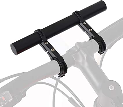 Aluminum Alloy MTB Bike Bicycle Handlebar Extender Holder Lamp Bracket Flashligh