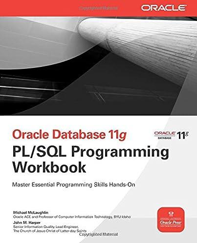 oracle database 11g pl sql programming workbook oracle press rh amazon com Oracle PL SQL Loop Oracle PL SQL Logo