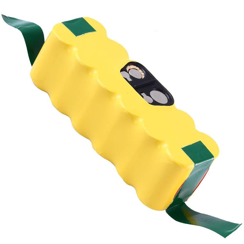 3.8Ah 14.4V Ni-Mh Battery for iRobot Roomba R3 500 600 700 800 900 Series Vacuum 510 530 531 532 535 536 540 550 552 570 580 595 620 660 760 770 780