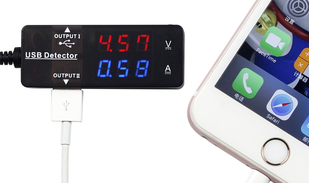 Led Battery Bank Monitor : Delicate uctronics usb monitor multifunction panel