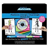 : Project Runway Fashion Design Challenge Sketchbook Set