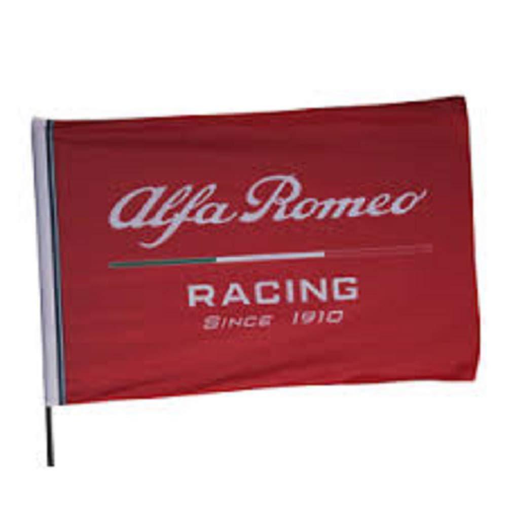 DND DAndolfo Ciro Drapeau Produit Officiel Alfa Romeo Racing