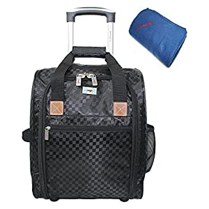 BoardingBlue Rolling Personal Item Under Seat Bag