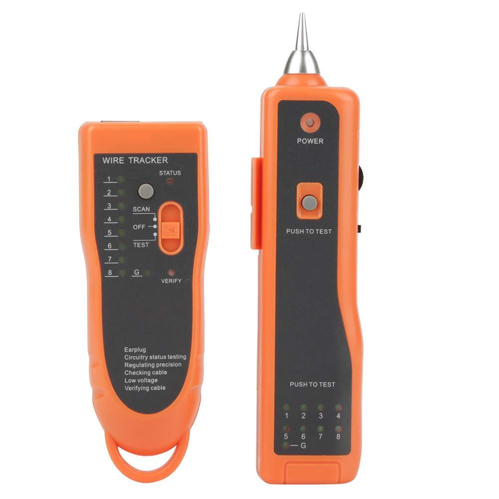 XQ-350 LAN Network Cable Tester RJ11 RJ45 Line Finder Wire Tracker con auricolare sensore sensibile Cable Tracker stabile e affidabile