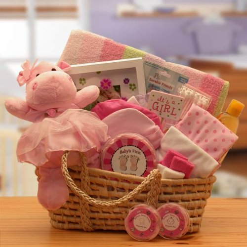 for a precious new baby girl gift basket great shower gift idea for