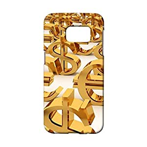 Samsung Galaxy S7 Protective Mobile Shell Personalized Protective Phone Case Snap on Samsung Galaxy S7 Currency Sign Pattern Cover Back