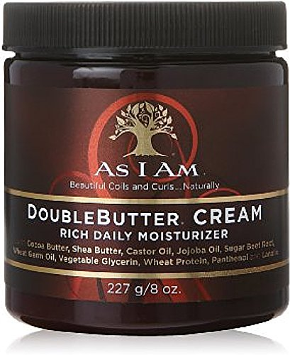 As I Am Double Butter Cream, 8 oz (Pack of 3)