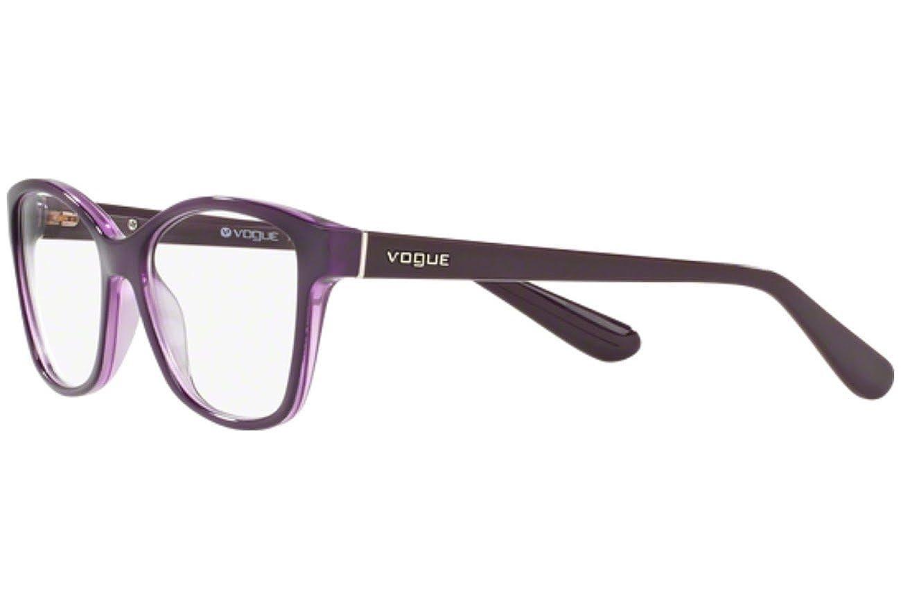 Top Violet//violet Transp Vogue VO2998 Eyeglass Frames 2409-54
