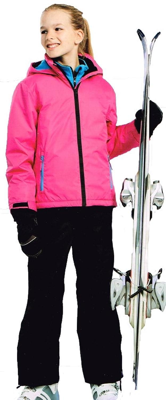 Pocopiano Mädchen Skianzug 2tlg. Funktioneller Skianzug Schneeanzug