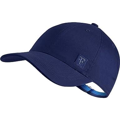 9ad364065f57f Nike Men`s RF Roger Federer Essential Heritage 86 Hat (Blue Void(AQ9094