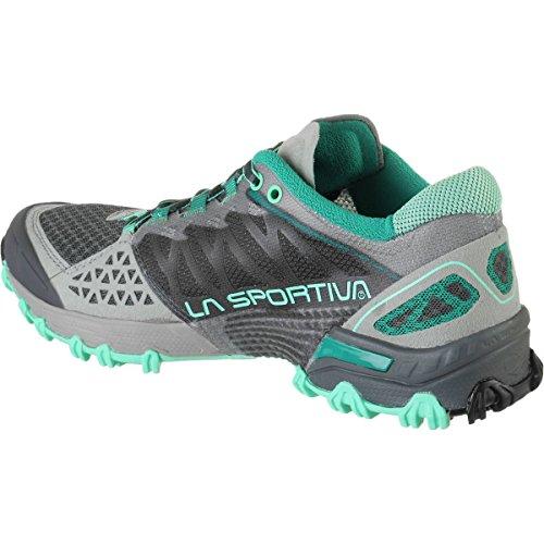 LA SPORTIVA - La Sportiva BUSHIDO WOMAN GREY/ICE BLUE - LSP-26LIG gris claro
