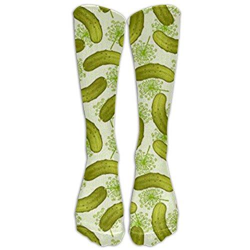 - NEW Dill Pickles Athletic Tube Stockings Women's Men's Classics Knee High Socks Sport Long Sock One Size