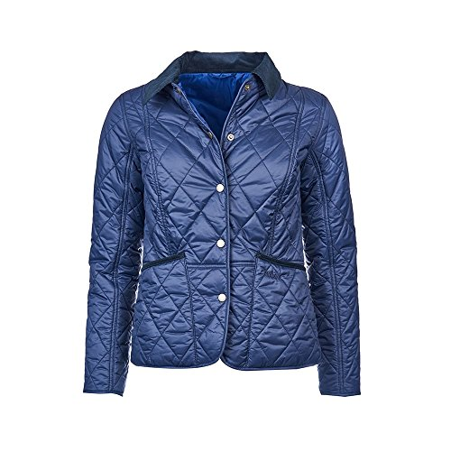 Barbour Women's Clover Liddesdale Jacket - Navy - 10 Barbour Fleece Jacket