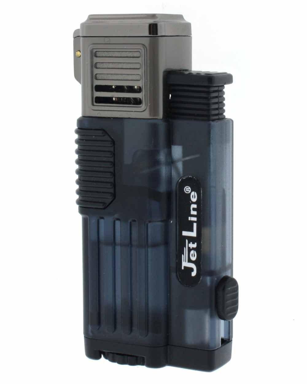 Amazon.com: JetLine Gotham Lite Quad Torch Flame Cigar Lighter Warranty Blue: Health & Personal Care