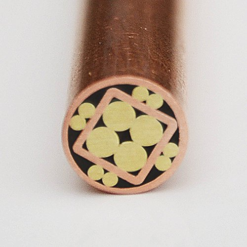 Mosaic Pin Pins Knife Handle Custom Knives Blank Blades Brass Copper Steel for Hunting Knives