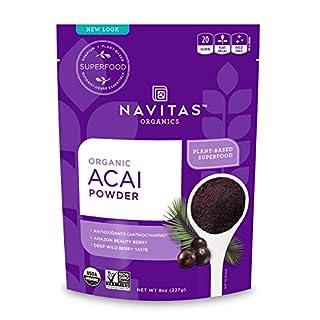 Navitas Organics Acai Powder, 8 oz. Bag - Organic, Non-GMO, Freeze-Dried, Gluten-Free (B001CGX3ZK) | Amazon price tracker / tracking, Amazon price history charts, Amazon price watches, Amazon price drop alerts