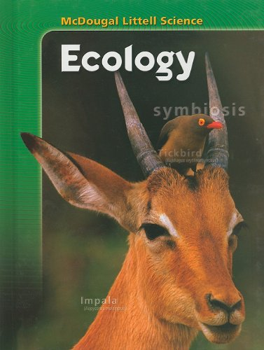 McDougal Littell Science: Student Edition Ecology 2007 PDF