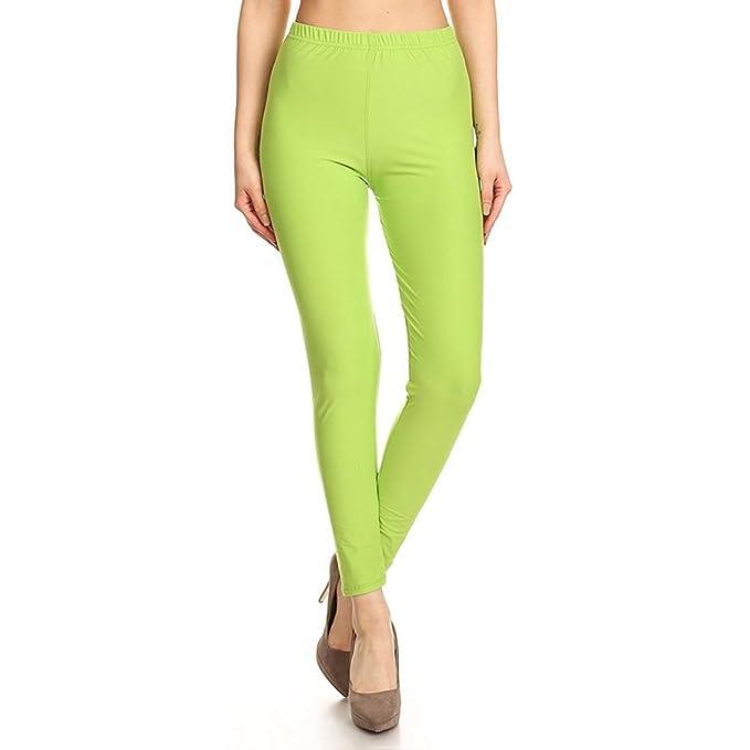 40fd9bd6b4ea4 Comfort Lady Legging Women's Cotton Lycra Legging(Free Size_Lemon):  Amazon.in: Clothing & Accessories