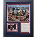Legends Never Die Busch Stadium New Framed Photo Collage, 11x14-Inch