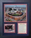 Legends Never Die Busch Stadium Framed Photo Collage, 11x14-Inch