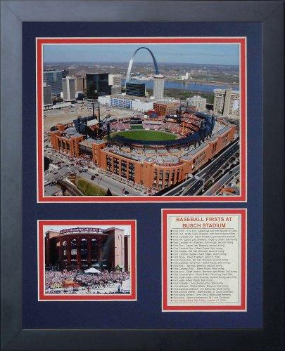 (Legends Never Die Busch Stadium Framed Photo Collage,)