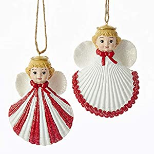 51CDkoC6ALL._SS300_ 100+ Best Seashell Christmas Ornaments