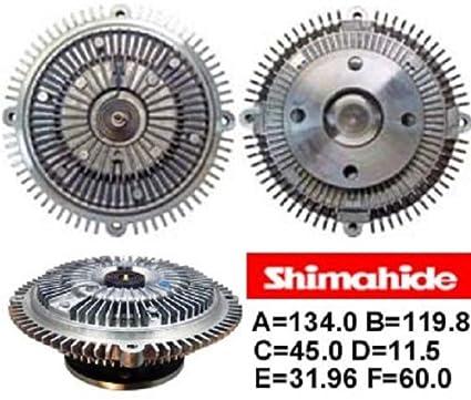 shimahide Ventilador embrague Nissan pick up -01p04